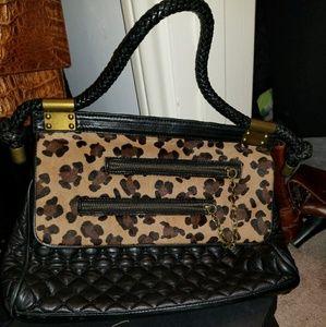 Kardashian's Bebe Leather Hand bag